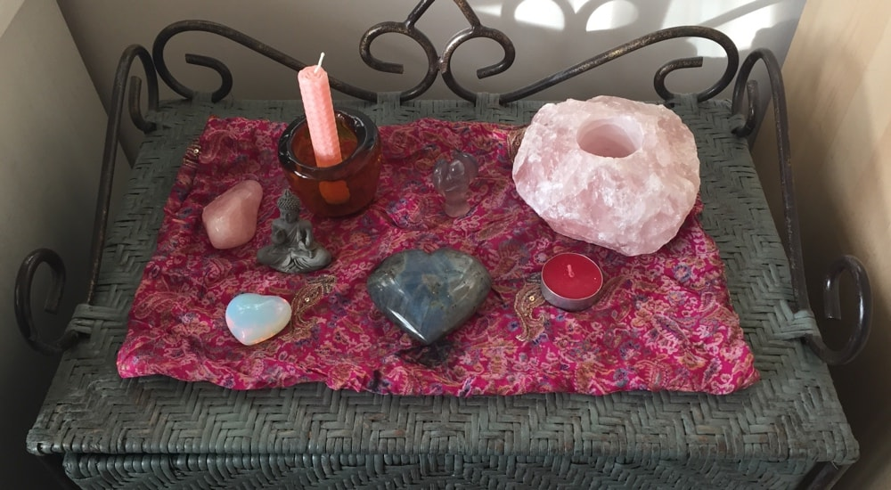 Making a Spiritual Alter at home