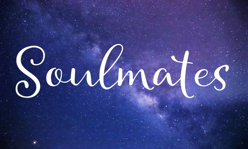 Soulmate banner graphic with stars and the word 'Soulmate'